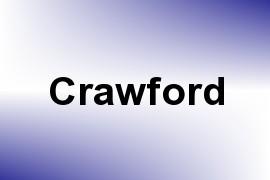 Crawford name image