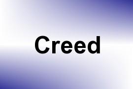 Creed name image