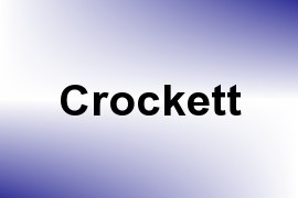 Crockett name image