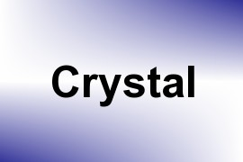 Crystal name image