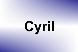Cyril name image