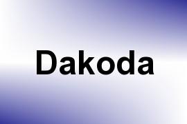 Dakoda name image