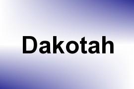 Dakotah name image