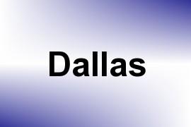 Dallas name image