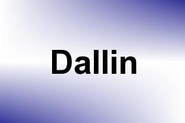 Dallin name image