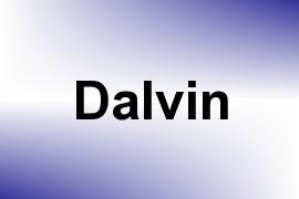 Dalvin name image