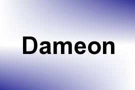 Dameon name image