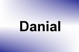 Danial name image
