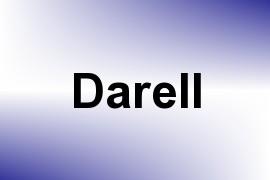 Darell name image