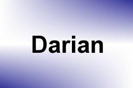 Darian name image