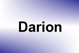 Darion name image