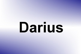 Darius name image