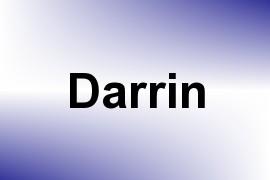 Darrin name image