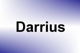 Darrius name image