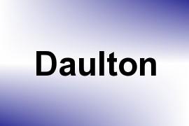 Daulton name image