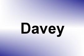 Davey name image