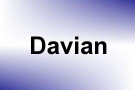 Davian name image