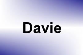 Davie name image