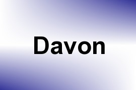 Davon name image
