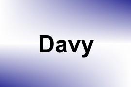 Davy name image