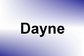 Dayne name image