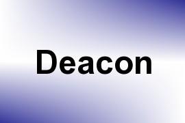 Deacon name image