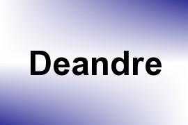 Deandre name image
