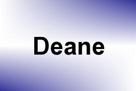 Deane name image