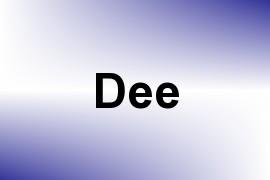 Dee name image