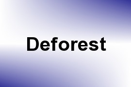 Deforest name image