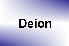 Deion name image