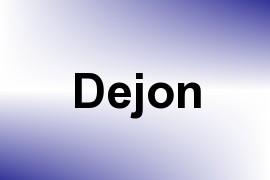 Dejon name image