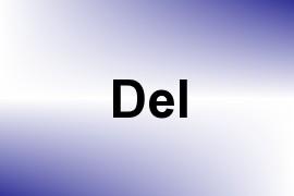Del name image