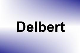 Delbert name image