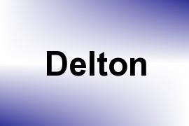 Delton name image