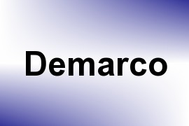 Demarco name image
