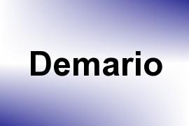 Demario name image