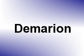 Demarion name image