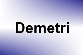 Demetri name image