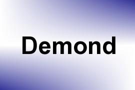 Demond name image