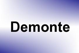 Demonte name image