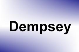 Dempsey name image