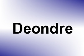 Deondre name image