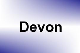 Devon name image