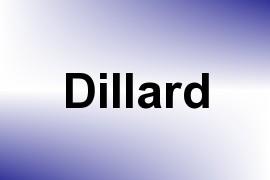 Dillard name image