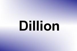 Dillion name image