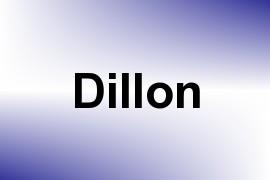 Dillon name image