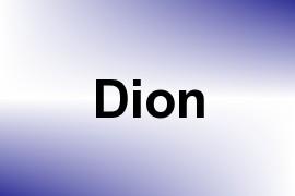 Dion name image
