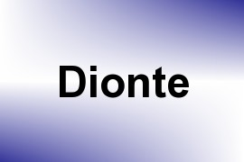 Dionte name image