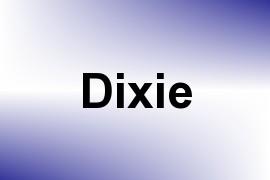 Dixie name image